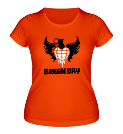 Женская футболка Green Day Wings