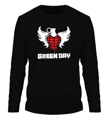 Мужской лонгслив Green Day Wings