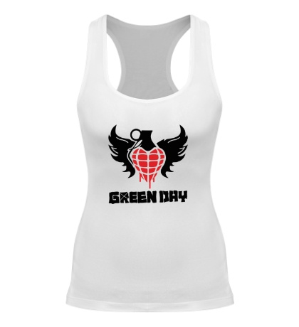 Женская борцовка Green Day Wings