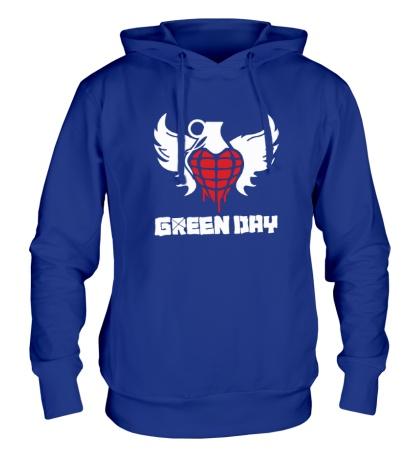 Толстовка с капюшоном Green Day Wings