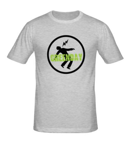 Мужская футболка Green Day: Warning