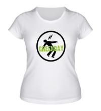 Женская футболка Green Day: Warning