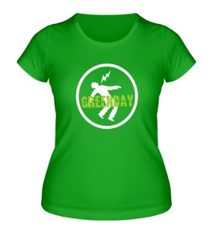 Женская футболка «Green Day: Warning»