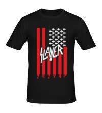 Мужская футболка Slayer flag