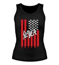 Женская майка Slayer flag