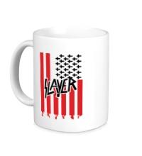 Керамическая кружка Slayer flag