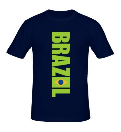 Мужская футболка Brazil