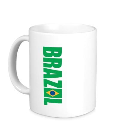 Керамическая кружка Brazil