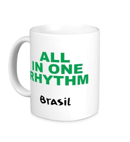 Керамическая кружка All in one Rhythm