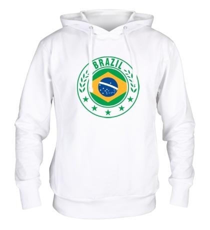 Толстовка с капюшоном Brazil, ЧМ-2014