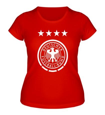 Женская футболка «Deutscher Fussball-Bund»