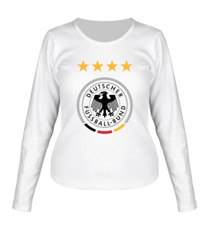 Женский лонгслив Deutscher Fussball-Bund