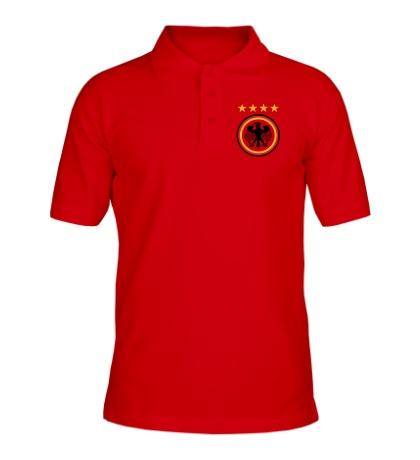 Рубашка поло Germany Football: 4 stars
