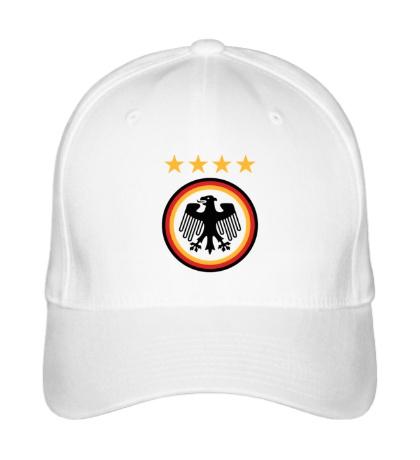 Бейсболка Germany Football: 4 stars