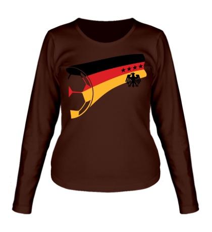 Женский лонгслив Germany Football