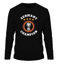 Мужской лонгслив Germany Champion: 4 stars