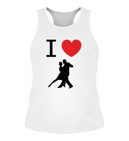 Мужская борцовка Я люблю Танго