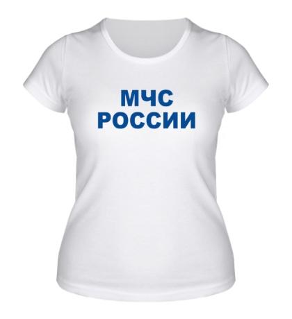 Женская футболка МЧС России