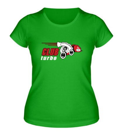 Женская футболка Club turbo
