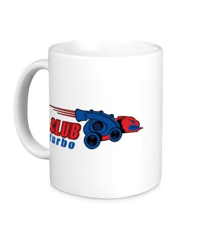 Керамическая кружка Club turbo