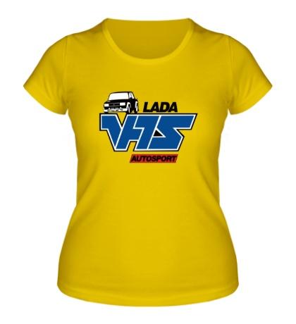 Женская футболка Lada VFTS