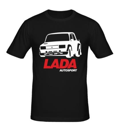 Мужская футболка LADA Sport Rosneft