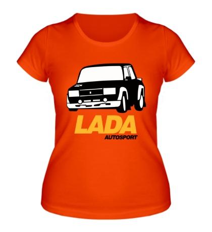 Женская футболка LADA Sport Rosneft