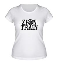 Женская футболка Zion Train
