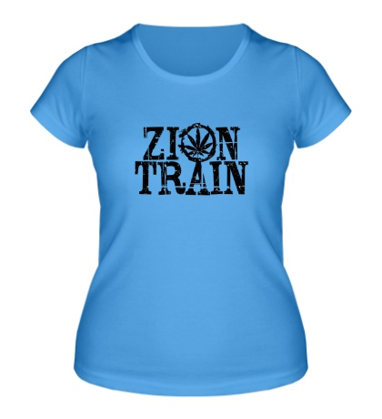 Женская футболка «Zion Train»