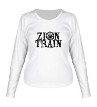 Женский лонгслив Zion Train