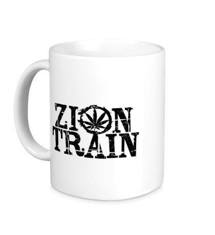 Керамическая кружка Zion Train