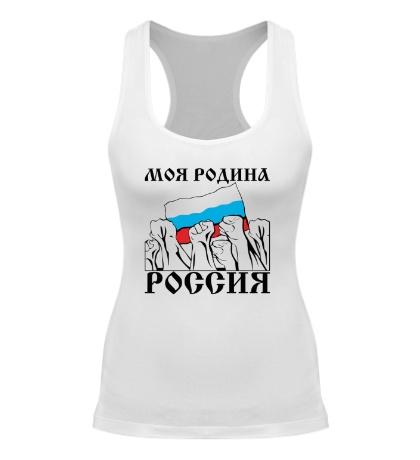 Женская борцовка Россия, родина моя