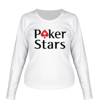 Женский лонгслив Poker Stars