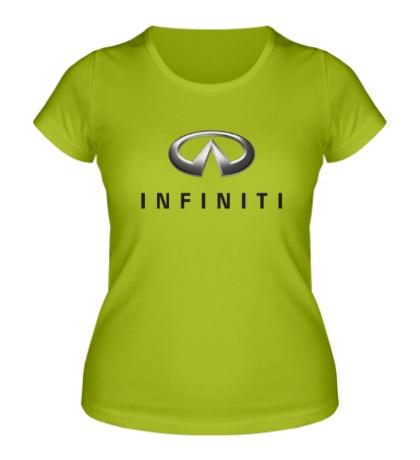 Женская футболка Infiniti