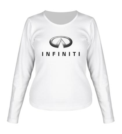 Женский лонгслив Infiniti