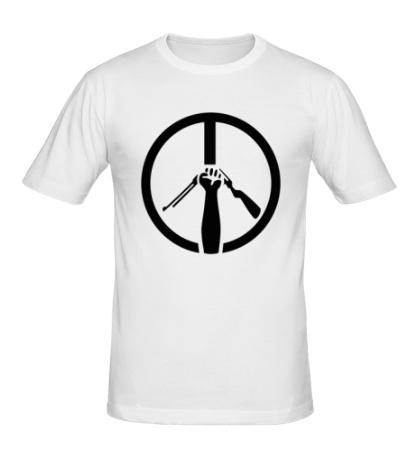 Мужская футболка Символ пацифизма