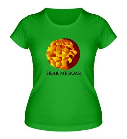 Женская футболка Герб Ланнистеров