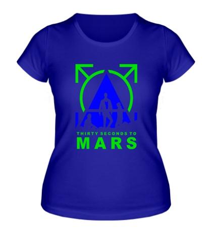 Женская футболка Thirty Seconds To Mars
