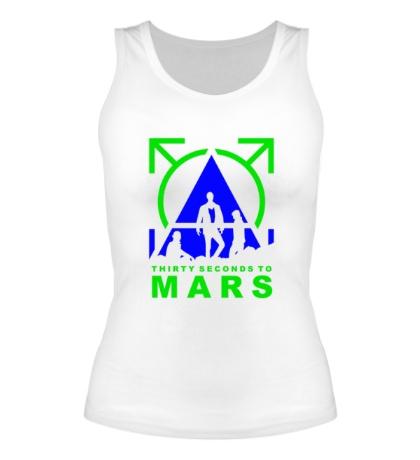 Женская майка Thirty Seconds To Mars