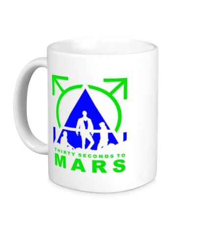 Керамическая кружка Thirty Seconds To Mars