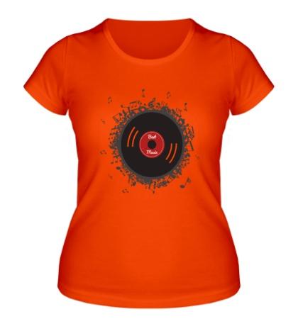 Женская футболка Electronic Best Music