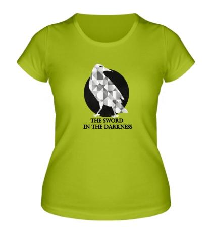 Женская футболка Герб ночного дозора
