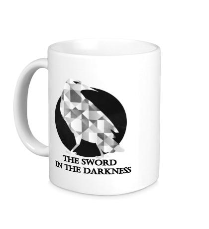 Керамическая кружка Герб ночного дозора
