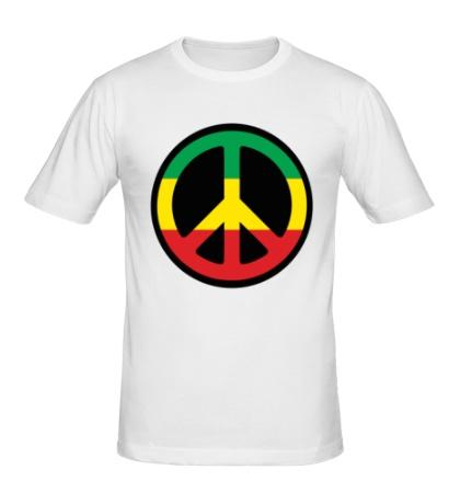 Мужская футболка Peace Symbol