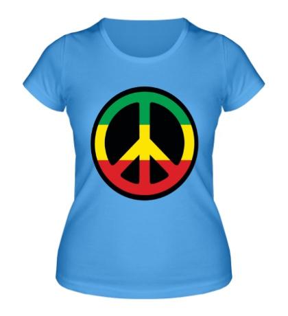 Женская футболка Peace Symbol