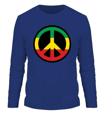 Мужской лонгслив Peace Symbol