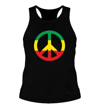 Мужская борцовка Peace Symbol