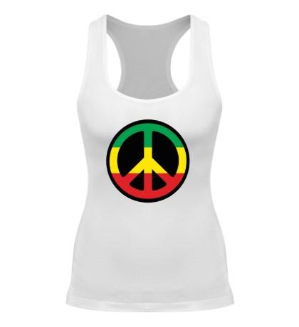 Женская борцовка Peace Symbol