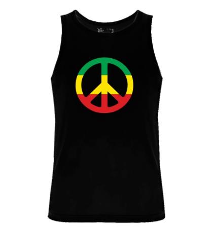Мужская майка Peace Symbol