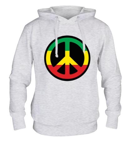 Толстовка с капюшоном Peace Symbol